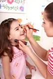 dziecka twarzy obrazu preschooler Fotografia Royalty Free
