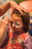 dziecka twarzy obrazu preschooler kobieta z kijem Zdjęcia Stock