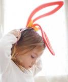dziecka ucho śmieszny królik Zdjęcie Stock