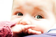 Dziecka uzębienie fotografia stock
