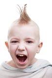 dziecka włosy ruch punków Zdjęcie Royalty Free