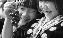 Dziecka wzgórza plemię Fotografia Stock