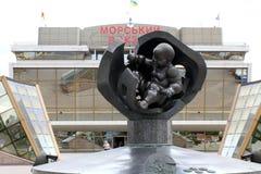 dziecka złota Odessa rzeźba Zdjęcie Royalty Free