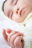 dziecka zakończenia ręka Zdjęcia Stock