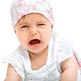 dziecka zamknięty płaczu gril zamknięty fotografia stock