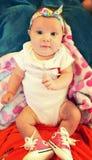 Dziecko łęki i chuck Zdjęcie Royalty Free