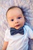 Dziecko łęku krawata motyl zdjęcie stock