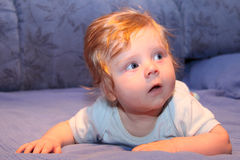 dziecko śliczny rozpraszać uwagę Fotografia Royalty Free