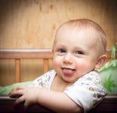 dziecko śmiechy Obrazy Stock