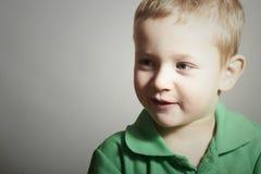 Dziecko. Śmieszny Mały Boy.Portrait Uśmiechnięty dzieciak zdjęcia stock