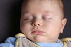 dziecko śpi obraz stock