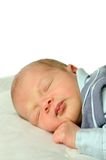 dziecko śpi fotografia stock