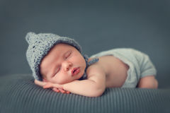 dziecko śpi dziecko Obrazy Royalty Free
