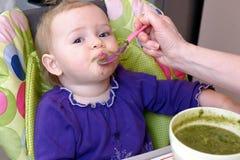 Dziecko żywieniowa łyżka obraz stock