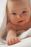 dziecko 11 kąpiel Obrazy Royalty Free