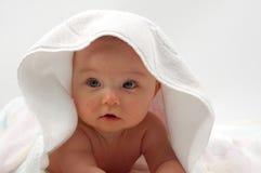 dziecko 11 kąpiel Fotografia Royalty Free