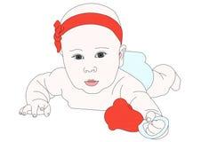 Dziecko obrazy royalty free