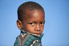 dziecko afrykańska portret Obrazy Royalty Free