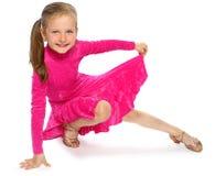Dziecko akrobata Zdjęcie Royalty Free