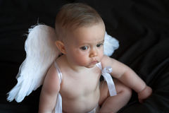 dziecko anioła fotografia stock