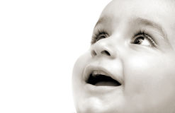 dziecko ary Obraz Stock