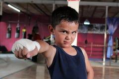 Dziecko atleta Obrazy Stock