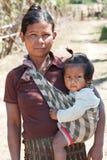 dziecko azjatykcia kobieta zdjęcie royalty free