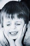 dziecko ból Obrazy Royalty Free
