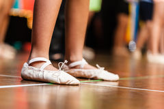 Dziecko balet obraz royalty free