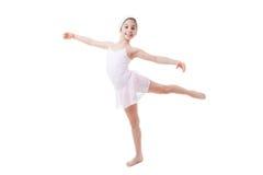 Dziecko baletnicza poza Zdjęcia Stock