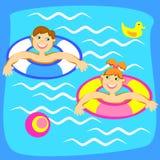 dziecko basen Obraz Stock