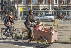 Dziecko bicyklu frachty Obrazy Stock