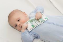 Dziecko biznes Fotografia Stock