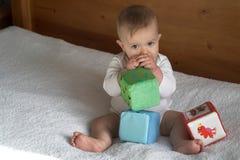 dziecko bloków Obraz Royalty Free