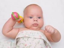 dziecko brzęk Zdjęcia Royalty Free