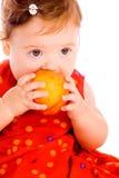 dziecko brzoskwinia Fotografia Stock