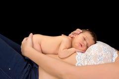 dziecko brzuch Zdjęcie Stock