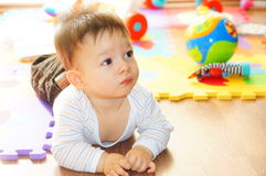 dziecko brzuch Obraz Stock