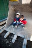 dziecko budowa Fotografia Royalty Free