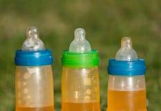 Dziecko butelki zdjęcia stock