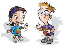 Dziecko charaktery Obraz Stock