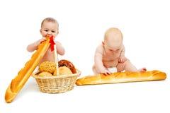 dziecko chleb Zdjęcie Stock