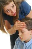 dziecko choroba Fotografia Stock