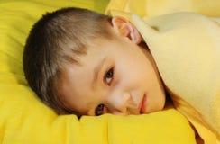 dziecko choroba Obraz Royalty Free