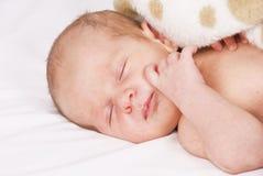 dziecko cukierki mały sypialny Obraz Stock