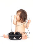 dziecko dźwięk Zdjęcie Royalty Free