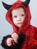 dziecko diabeł Fotografia Stock