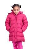 dziecko dni słońca zimy uśmiechnięta dziewczyny Obrazy Royalty Free