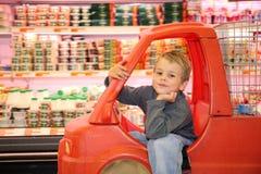 dziecko do sklepu zdjęcia stock
