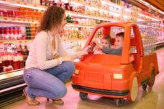 dziecko do sklepu Zdjęcie Stock